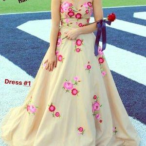 Sherri Hill prom dress.